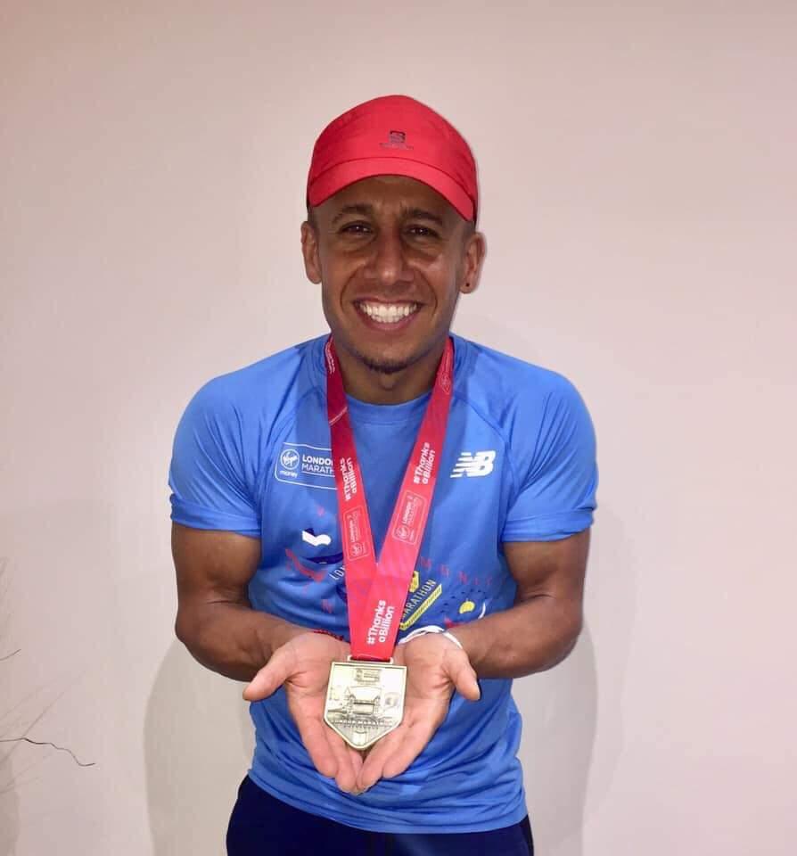 London Marathon 2019 – Farhad Hamad