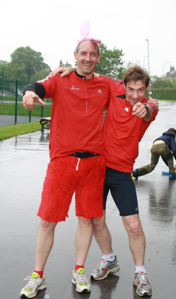 A year in the life of a parkrun tourist.. by Jason Newell 2012
